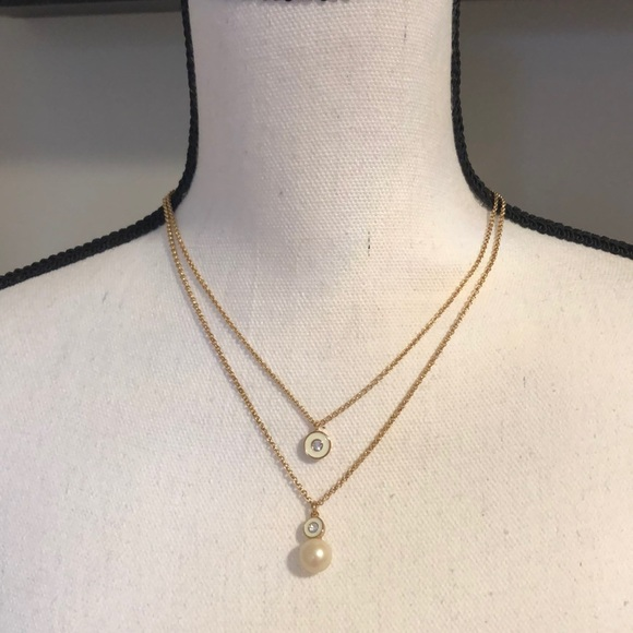 Kate Spade 2 Layer Necklace